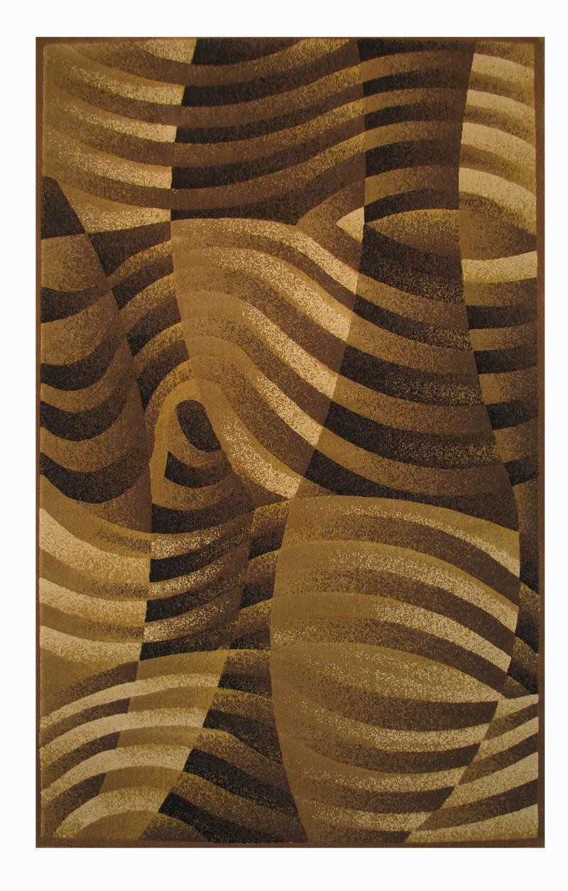 Crown Area Rug~Tans & Browns 2'x 8'