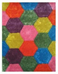 "Exotic Colorful Area Rug 39"" x 58"""
