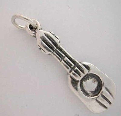SilverSpeck Sterling Silver Music GUITAR CHARM
