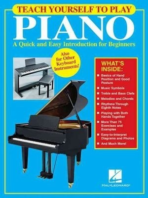 Teach Yourself to Play Piano Book