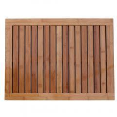 Oceanstar Bamboo Floor and Shower Mat FM1163