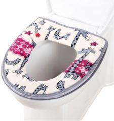 Noble Bathroom GiraffsToilet Mat Lovely WC Mat-12
