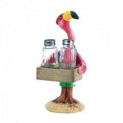 Serving Flamingo Salt and Pepper Shakers