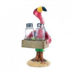 Serving Flamingo Salt and Pepper Shakers