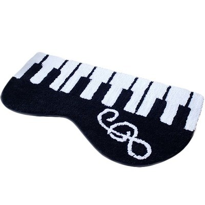 Unique Carpet Piano Bath Rug Classic Piano Hallway Living Room Rug