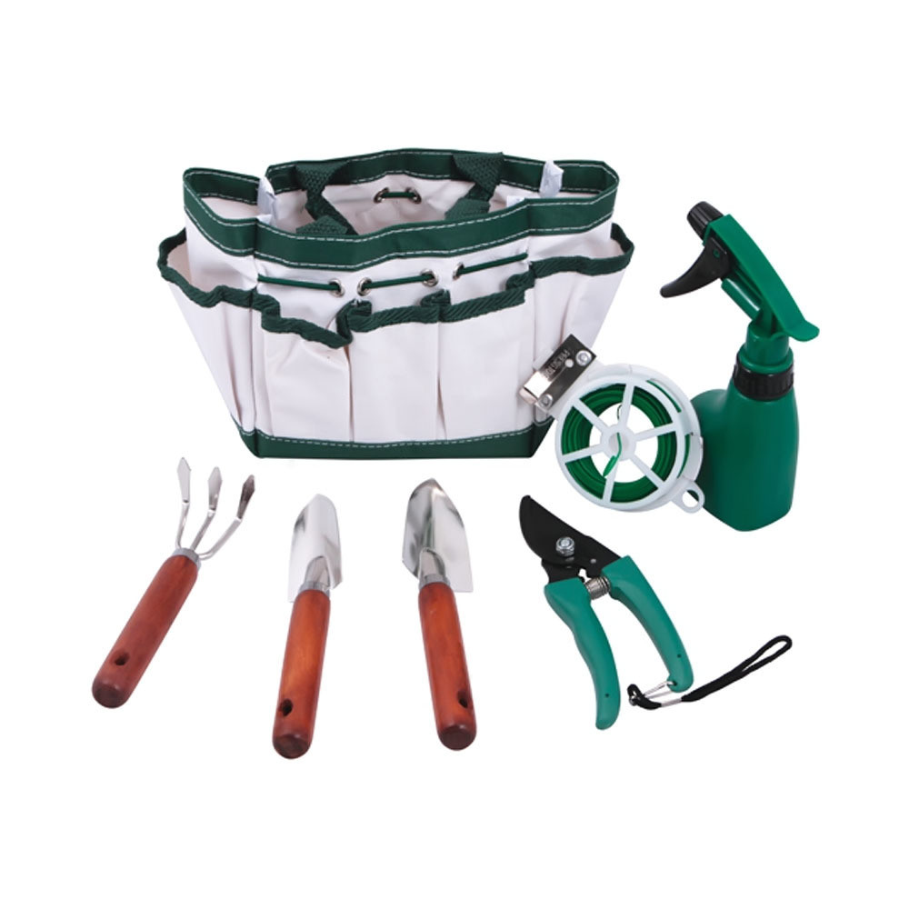 Premium Connection7 Pc Garden Set Patio Tools