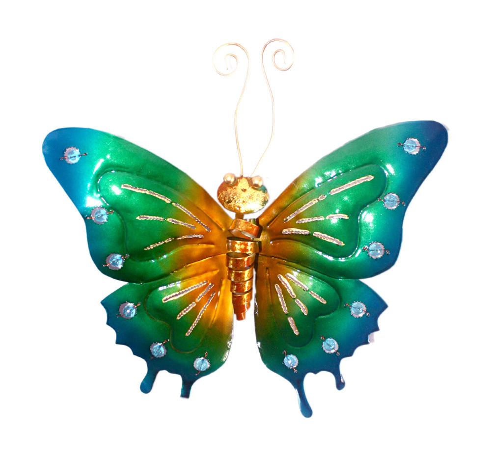 D-Art collection Iron Butterfly Wall Art Decor Medium
