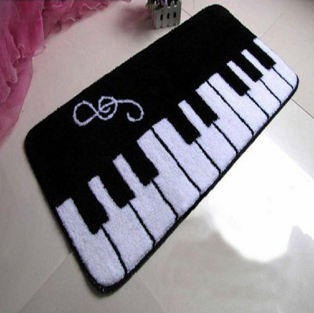 Art Rug Piano Shape Door Mat 19.5*31.5 Inches