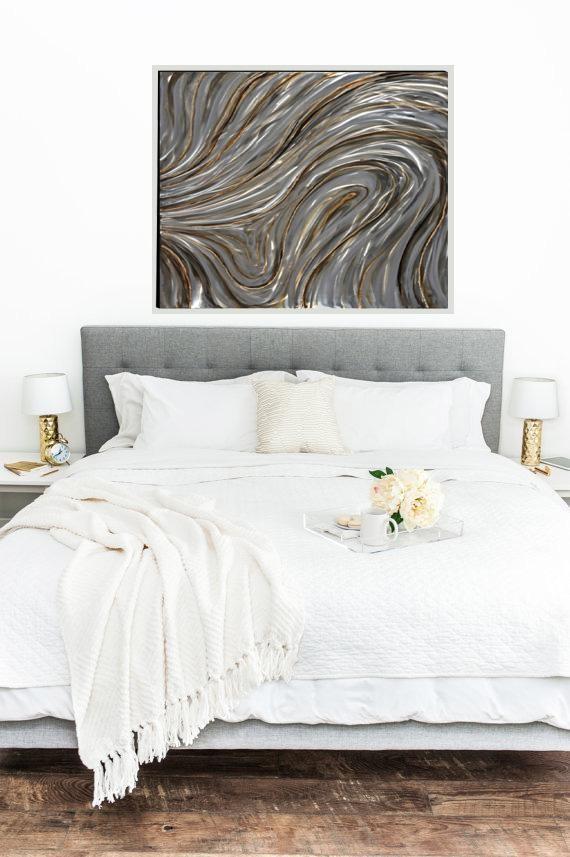 Notable Swirls Design Wooden Wall Art Decor, Multi-color