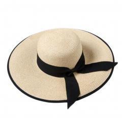Beach Seaside Sunscreen Hat Hiking Shopping Straw SunHat
