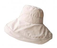 Beige] Lady Foldable Sun Hat Elegant Top Hat Dress Hat Beach Hat