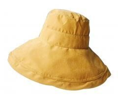 Yellow] Foldable Sun Hat Elegant Beach Hat