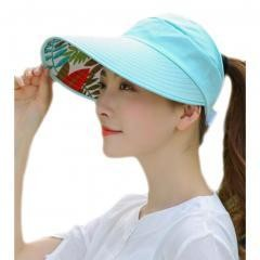 UV Protection Hat For Women Skin Care--Blue