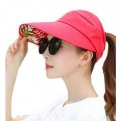 UV Protection Hat For Women Skin Care-Red