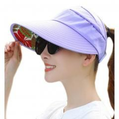 UV Protection Hat For Women Skin Care-purple
