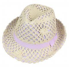 Panama Hat (yellow) Natural Straw Sun Hat