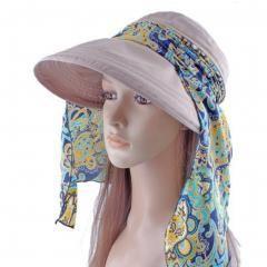 Women's Multifunctional Adjustable Sun Hat (Khaki)