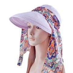 Women's Multifunctional Adjustable Sun Hat (lt Purple)