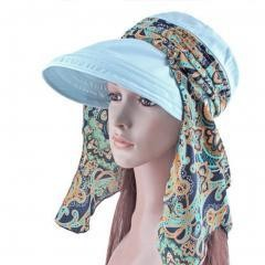 Women's Multifunctional Adjustable Sun Hat(lt Blue)