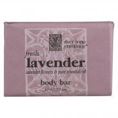 River Soap Company Soap - Fresh Lavender Bar - 4.5 oz.