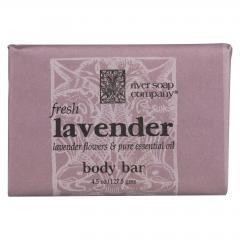 River Soap Company Soap - Fresh Lavender Bar - 4.5 oz.