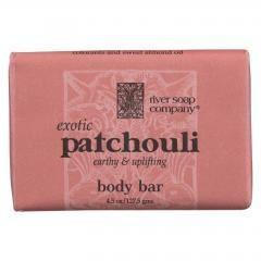 River Soap Company Soap - Patchouli Bar - 4.5 oz.