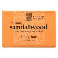 River Soap Company Bar Soap - Sandalwood - 4.5 oz