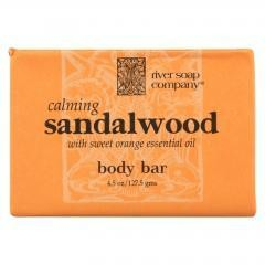 River Soap Company Bar Soap - Sandalwood - 4.5 oz