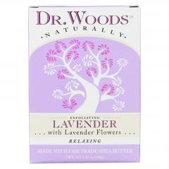 Dr. Woods Organic Castile Bar Soap Lavender - 5.25 oz