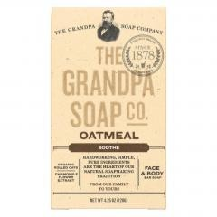 Grandpa Soap Bar Soap - Oatmeal - 4.25 oz