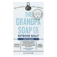 Grandpa Soap Bar Soap - Epsom Salt- 4.25 oz