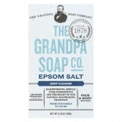 Grandpa Soap Bar Soap - Epsom Salt- 4.25 oz