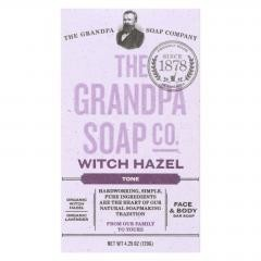Grandpa Soap Bar Soap - Witch Hazel- 4.25 oz