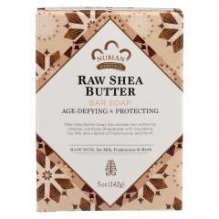 Nubian Heritage Bar Soap Raw Shea Butter - 5 oz