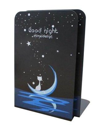 Simple Creative Students Bookend Books Finishing Frame~Black