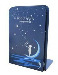 Simple Creative Students Bookend Books Finishing Frame~Blue