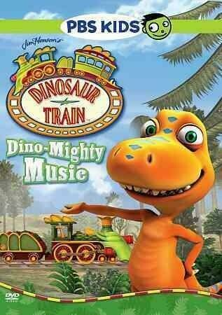 DINOSAUR TRAIN-DINO MIGHTY MUSIC (DVD) NLA