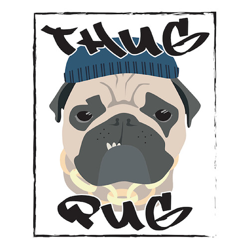 Thug Pug Genetics Natural Gas