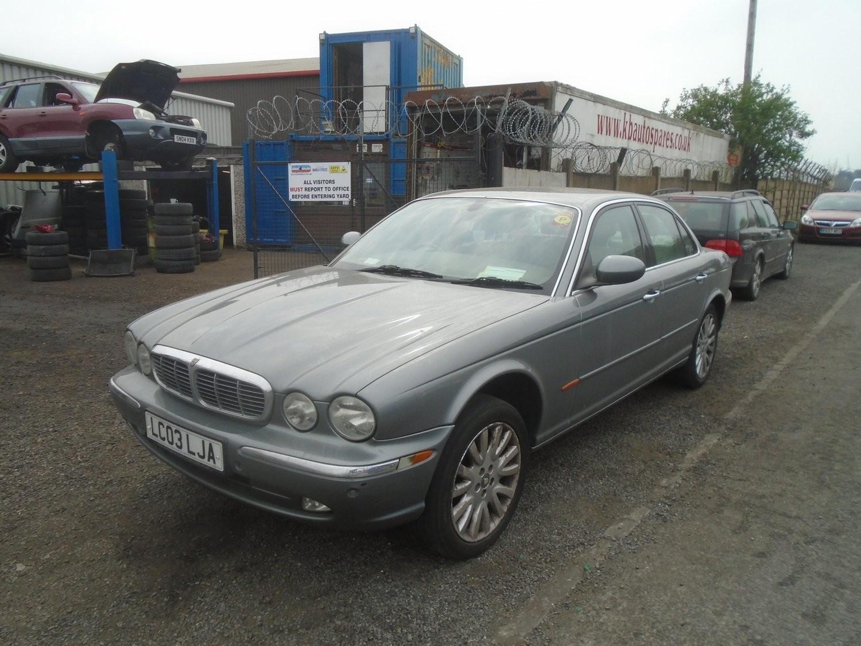 Jaguar Xj6 V6 Auto 3l Petrol 2003 Breaking Full Car Click For Info