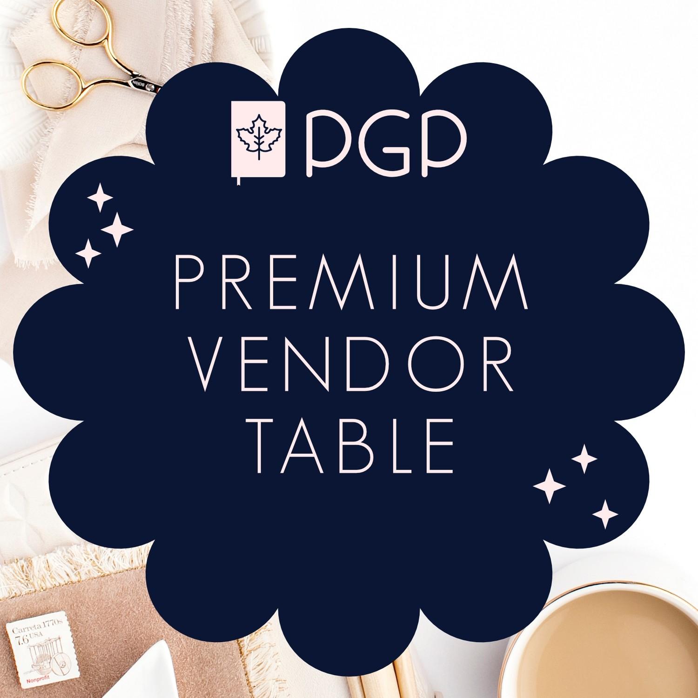 Premium Vendor Table