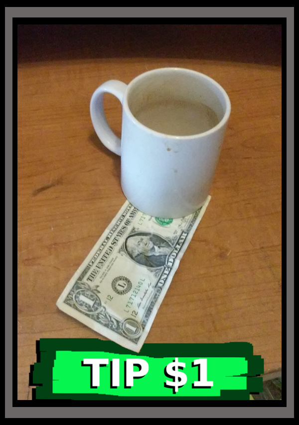 Tip $1