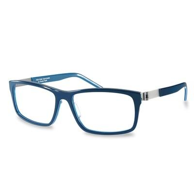 Acetate FFA 986 Dark Blue-Blue  (56-16-140 mm)  size M