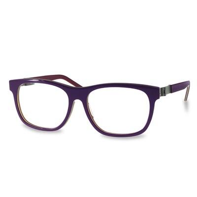 Acetate FFA983  Purple-Red   (52-15-135 mm)