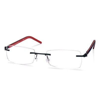 Green Rimless FFA 964 Dark Gun (50-18-140 mm) size S