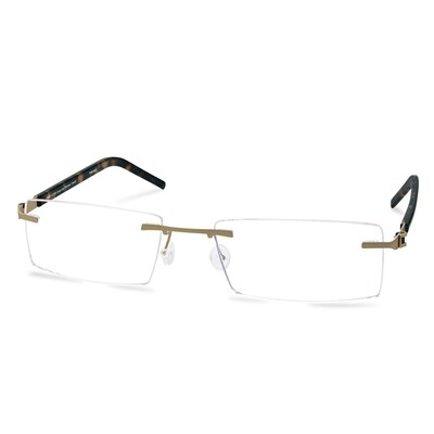 Green Rimless FFA 966 Gold   (55-18-145 mm)  size L