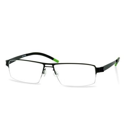 Green Semi Rim FFA 903 Black  (56-17-145 mm)