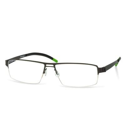 Green Semi Rim FFA 903 Brown   (56-17-145 mm)