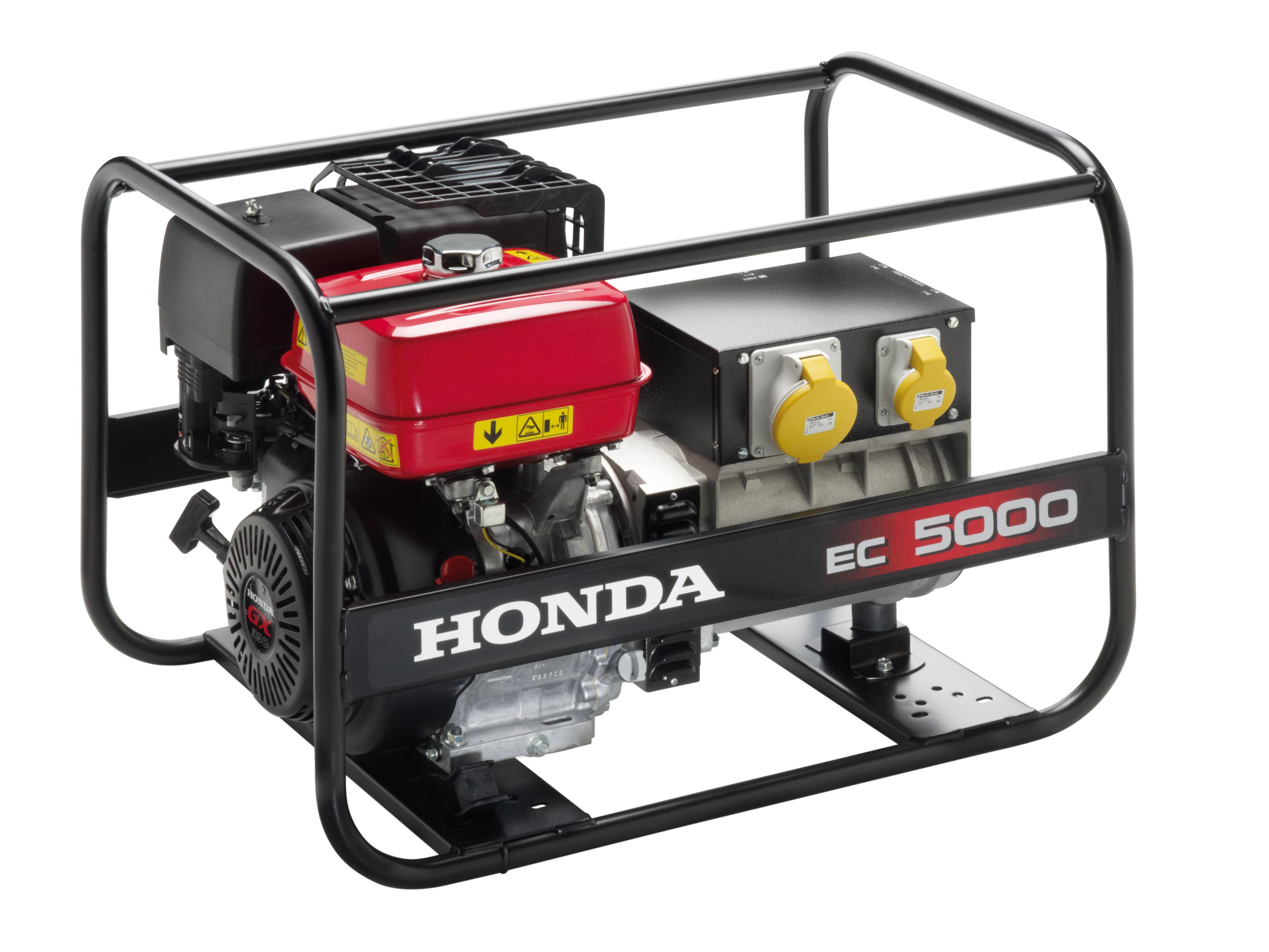 Honda EC5000-generaattori H0009