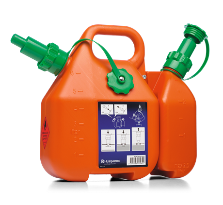 HUSQVARNA kombikannu 6 + 2,5 litraa HU0162