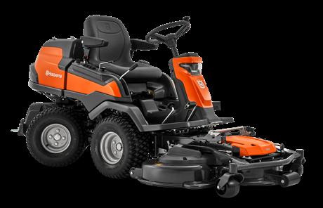 Husqvarna R 420TsX AWD + Leikkuupöytä CC 122 HU0316